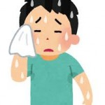 暑い日の頭痛