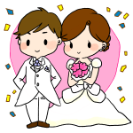 結婚式なお話~横引~